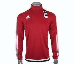 New Men's Adidas Long Sleeved Climacool Training Top 1/4 Zip Sweatshirt L 2XL