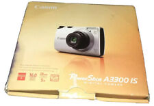 Canon PowerShot A3300 IS 16.0MP Digital Camera - Silver