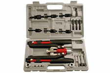 LASER TOOLS 3736 Riveter Nut Riveter Lock Bolt Tool Kit Rivet + Case