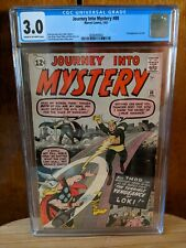 Journey into Mystery #88 CGC 3.0 C-OW pages - 2nd Appearance of  Loki.