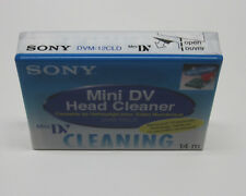 1 Sony Mini DV head cleaning cassette for Canon 3ccd pro camcorders