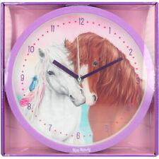 Depesche Miss Melody Horses Noiseless Wall Clock