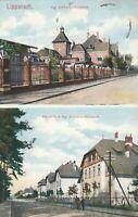 #644 - AK Lippstadt Kaserne mit Kgl. Artillerie Werkstatt Feldpost 1914 gelaufen