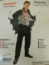 Set travestimento Carnevale Halloween adulti uomo ragazzo VAMPIRO DRACULA R16