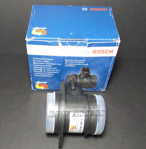 Genuine Bosch Mass Air Flow Sensor MAF Meter 8L 4L Leon VW MK4 1C 9C Germany OEM