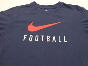 FOOTBALL  Nike Dri-Fit Boys Youth  Large Athletic Cut T Shirt
