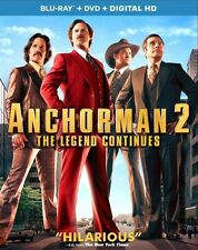 Anchorman 2: The Legend Continues (BLU-RAY + BLU-RAY BONUS DISC)