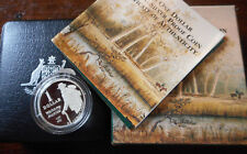 Australia 1995 Waltzing Matilda  Dollar Silver $1 Proof