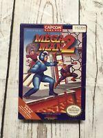Nintendo NES Mega Man 2 Game BOX ONLY Vintage Rare
