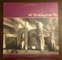 U2 The Unforgettable Fire LP Vinyl Record Album 1984 90231-1 Wax R-154515 Island