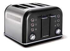 Morphy Richards 242018EE Accents schwarz Toaster