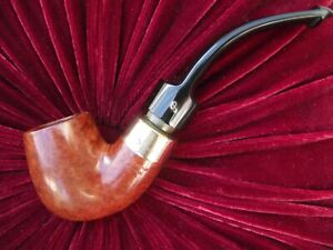 Peterson Supreme Gold Mounted Pipe.