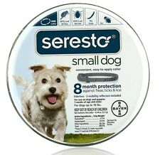 Seresto Flea & Tick Collar for Small Dogs (Under 18 lbs) USA EPA Approved