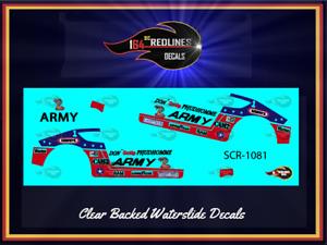 """1978 Hot Wheels """"Army Funny Car"""" 2023 Decal Set SCR-1081"""