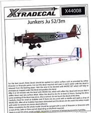 Xtra Decals 1/144 JUNKERS Ju-52/3m Transport
