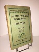 La philosophie religieuse de Bergson par Lydie Adolphe