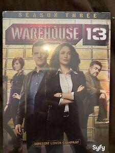 Warehouse 13: Season 3 (DVD, 2012, 3-Disc Set) SYFY Mystery Loves Company