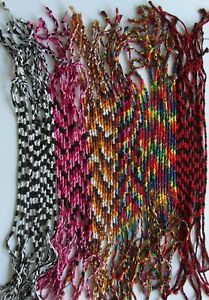 Thai  Cotton  Friendship  Bracelet - 6  Colours  To  Choose  From  !!     New !!