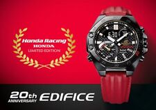 CASIO ECB-10HR-1A EDIFICE Honda Racing 20th Anniversary Bluetooth Leather LE