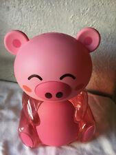 Anime Manga Candy Toy Plastic Bank Hanging Japan Pink Art Bear Collectible Fun