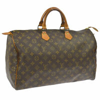LOUIS VUITTON SPEEDY 40 HAND BAG MONOGRAM PURSE M41522 A44017b