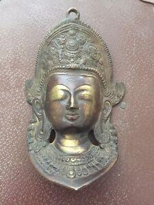 Asian Art, Vintage Bronze Deity