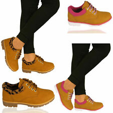 Women's Block Walking, Hiking, Trail 100% Leather Shoes