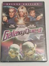 New Dvd! Galaxy Quest (Deluxe Edition, 2009) T Allen, S Weaver, A Rickman.Sealed