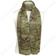 Multitarn Camo Mesh Net Scarf - Scrim Neckerchief Cadets Army Military Soldier