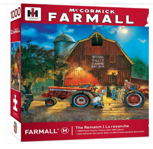 McCormick-Farmall The Rematch 1000 Piece Puzzle by Dave Barnhouse