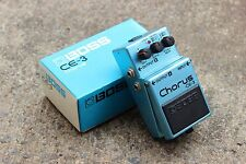 1988 Boss CE-3 Stereo Chorus MIJ Japan Vintage Effects Pedal w/Box