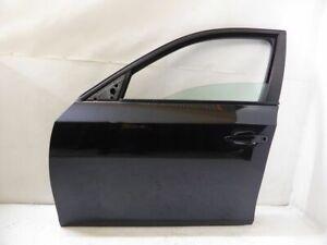 BMW 5er E61 E60 Bj 2003-2010 Fahrer Tür Vorne Links komplett Carbonschwarz 416