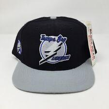 NEW Vintage Tampa Bay Lightning NHL Fiber Optic Light Up Blockhead Snapback Hat