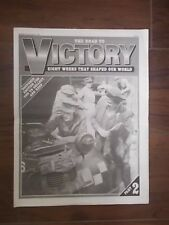 DAILY MAIL NEWSPAPER SUPPLEMENT MARCH 27th 1995 WW2 ROAD TO VICTORY PART 2