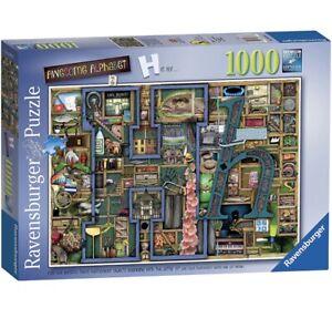 Ravensburger AWESOME ALPHABET H Colin Thompson Jigsaw Puzzle 1000 pc FREE P&P