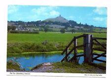 Somerset - Glastonbury, The Tor - Postcard