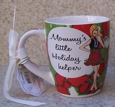 Jumbo Coffee Mug Mommy's Little Holiday Helper NEW 24 ounce cup with gift box