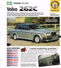 VOLVO BROCHURES / Road Test IMP COLLECTION: 262C bertone,S80 T6,C70