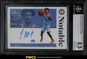 2019 Panini Encased Ja Morant ROOKIE RC AUTO /49 #178 BGS 8.5 NM-MT+