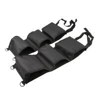 2Pcs Car Seat Back Rifle Gun Rack Pick Up Organizer Sling Bag Black