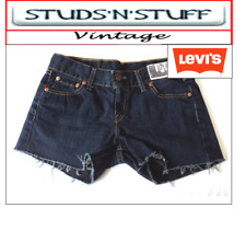 "LEVIS  VINTAGE WOMENS 577'S LOW WAISTED SHORTS SIZE 30"" APROX SIZE 10  (A28 )"