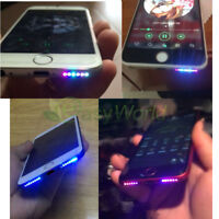 OEM Night Glow Cool Intelligent Light Bottom Speaker Hole LED For iPhone 7 6s 6