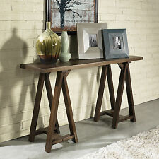 Wood Console Table Sofa Contemporary Entry Hall Way Home Furniture Decor Accent