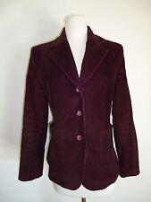Express dark burgundy Corduroy Blazer fancy cotton Jacket size 5/6