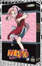 15013//COFFRET 3 DVD NARUTO VOLUME 16 NEUF SOUS BLISTER