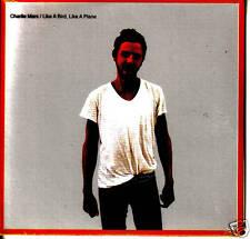 CHARLIE MARS Like a Bird Plane CARDED ADVNCE PROMO CD