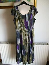"Per Una Sleeveless Viscose Dress, Size 12, Length 43"", M&S, BNWT  £35"