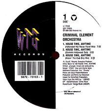 "12"" - Criminal Element Orchestra - House Time..(LISTEN)"