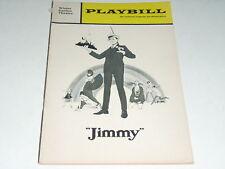 """1969 PLAYBILL """"JIMMY"""" FRANK GORSHIN ANITA GILLETTE J W"""