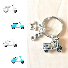 Moped Keyring, Vespa Keychain, Scooter Keychain, Motorbike Gifts, Vespa Gifts